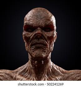 Halloween Portraits : Halloween Selfie... Highly detailed 3D render.
