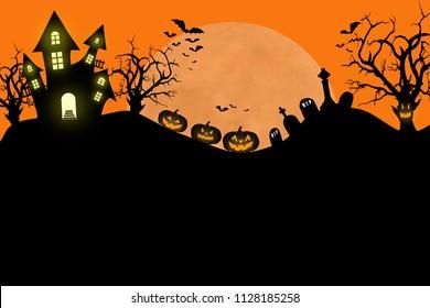 Halloween poster,invitation,flier design template