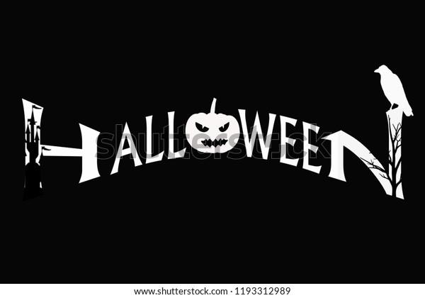 Halloween Scary Wallpaper Art Halloween Black Stock