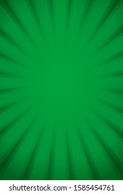 Halo effect in green colour background