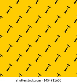 Hammer slag of welder pattern seamless repeat geometric yellow for any design