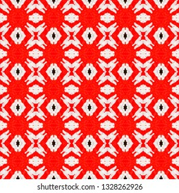 Hand crafted ethnic seamless pattern. Inspired by traditional Indian themes. Ethnic seamless pattern for use in web and digital design, craftworks and fashion products.