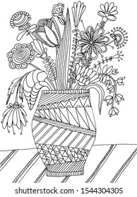 hand drawing coloring book children 260nw