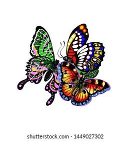 Ilustraciones Imágenes Y Vectores De Stock Sobre Papillon