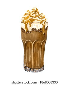 Frappe Coffee Sketch Hd Stock Images Shutterstock
