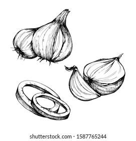 Hd Loaf Meat Food Egg Onion Recipe Meatloaf - Food Clipart Black And White,  HD Png Download , Transparent Png Image - PNGitem