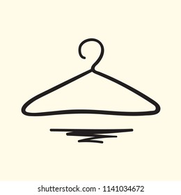 Hand drawn hanger illustration