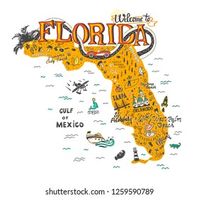 Florida Map Picture.Florida Map Images Stock Photos Vectors Shutterstock
