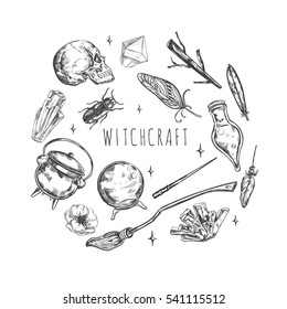 Witch Symbol Images, Stock Photos & Vectors | Shutterstock