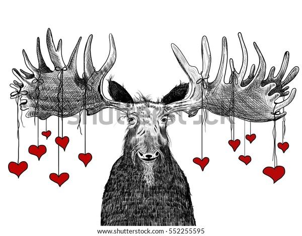 """Image result for valentines moose"""""""