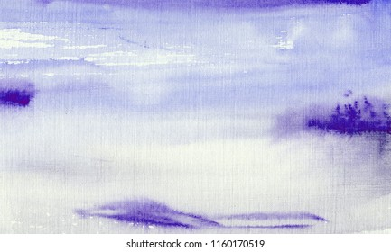hand made watercolor abstract wash texture / artistic painted background for stylish design