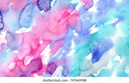 hand made watercolor texture, abstract painted background
