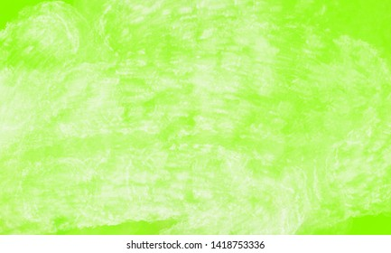 Hand painted green abstract watercolor canvas textured background