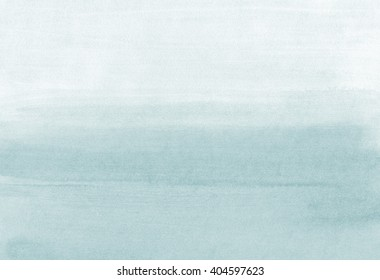 Hand painted grey black watercolor wash background. Watercolour Gradient texture. Gray blue Soft transition. Black Abstract ombre