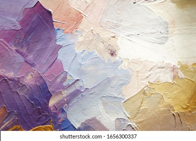 Hand painted textured abstract background