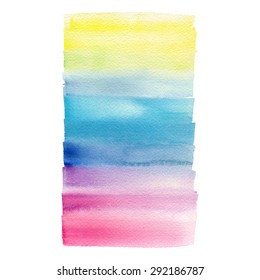 Hand painted watercolor background. Watercolor wash.