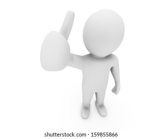 Hand Shaped mouse Cursor thumb up like man facebook share good social media share 3d symbol icon button
