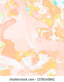 Hand-painted light pink abstract background. Design for background, banner, flaer,poster,brochure etc.