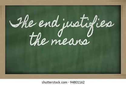 the end justifies the means niccolo machiavelli