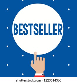 Handwriting text Bestseller. Concept meaning Book product sold in large numbers Successful literature