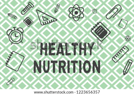 Royalty Free Stock Illustration Of Handwriting Text Healthy