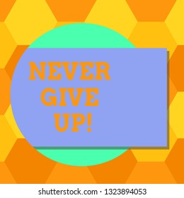 Never Give up On Your Dreams Images, Stock Photos & Vectors