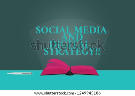 Handwriting Text Writing Social Media Digital Stock