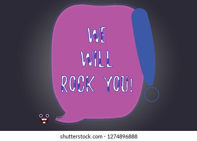 Musical We Will Rock You Images, Stock Photos & Vectors