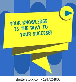 knowledge is the key to success speech