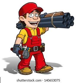 Handyman -- Plumber Red