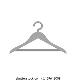 Hanger Icon Trendy Style Isolated Background