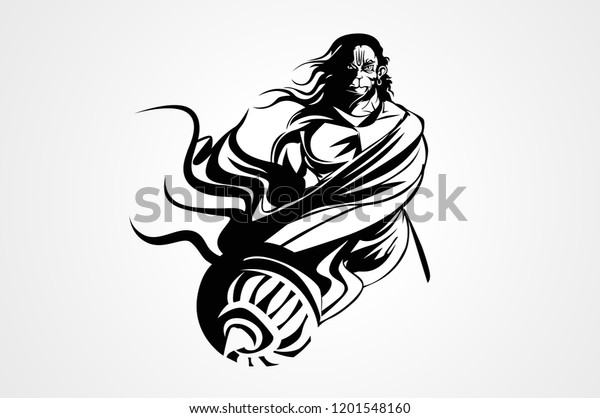 Mahabali Hanuman Hindu God Sticker Photo  IMAGES, GIF, ANIMATED GIF, WALLPAPER, STICKER FOR WHATSAPP & FACEBOOK