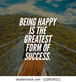 Happiness quote for happy life.