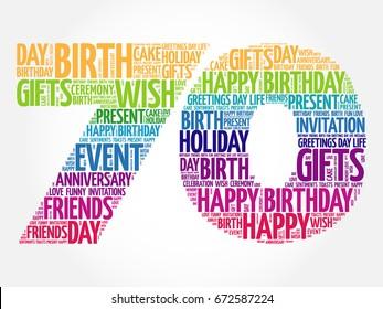 70th Birthday Invitation Images Stock Photos Vectors Shutterstock