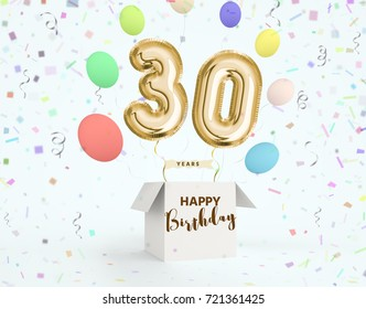30th Birthday Images Stock Photos Vectors Shutterstock