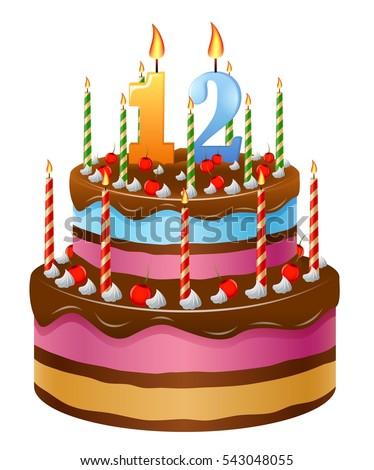 Happy Birthday Cake 12