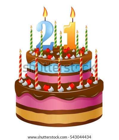 Happy Birthday Cake 21