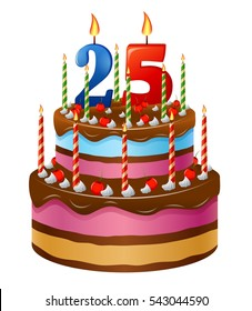 Terrific 25 Birthday Cake Images Stock Photos Vectors Shutterstock Funny Birthday Cards Online Inifofree Goldxyz