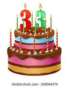 Happy Birthday Cake 33