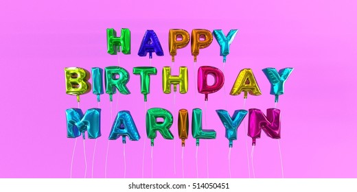 Happy Birthday Marilyn Images, Stock Photos & Vectors
