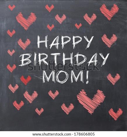 happy birthday momのイラスト素材 178606805 shutterstock