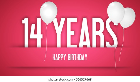 Happy Birthday Wishes Birthday Girl Personalised Stock Illustration