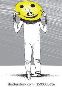 happy face smile Hippocratic lies deception