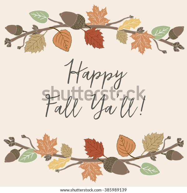 picture relating to Happy Fall Yall Printable identified as Pleased Tumble Yall Printable Hand Drawn Inventory Example