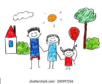 Childrens Drawing Images Stock Photos Vectors Shutterstock