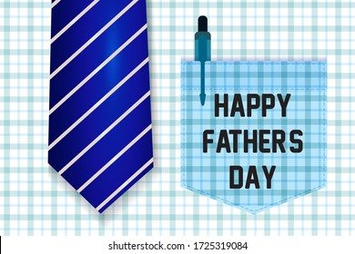 Happy Father's Day Greeting Card (shirt and tie design)