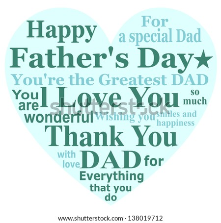 Royalty Free Stock Illustration Of Happy Fathers Day Message Card