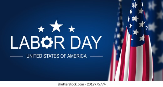 Happy Labor Day USA Background