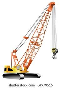 happy man working on crane