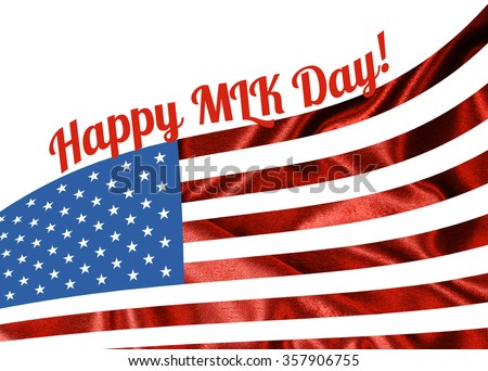 Happy Martin Luther King Day Have Stock Illustration Royalty Free